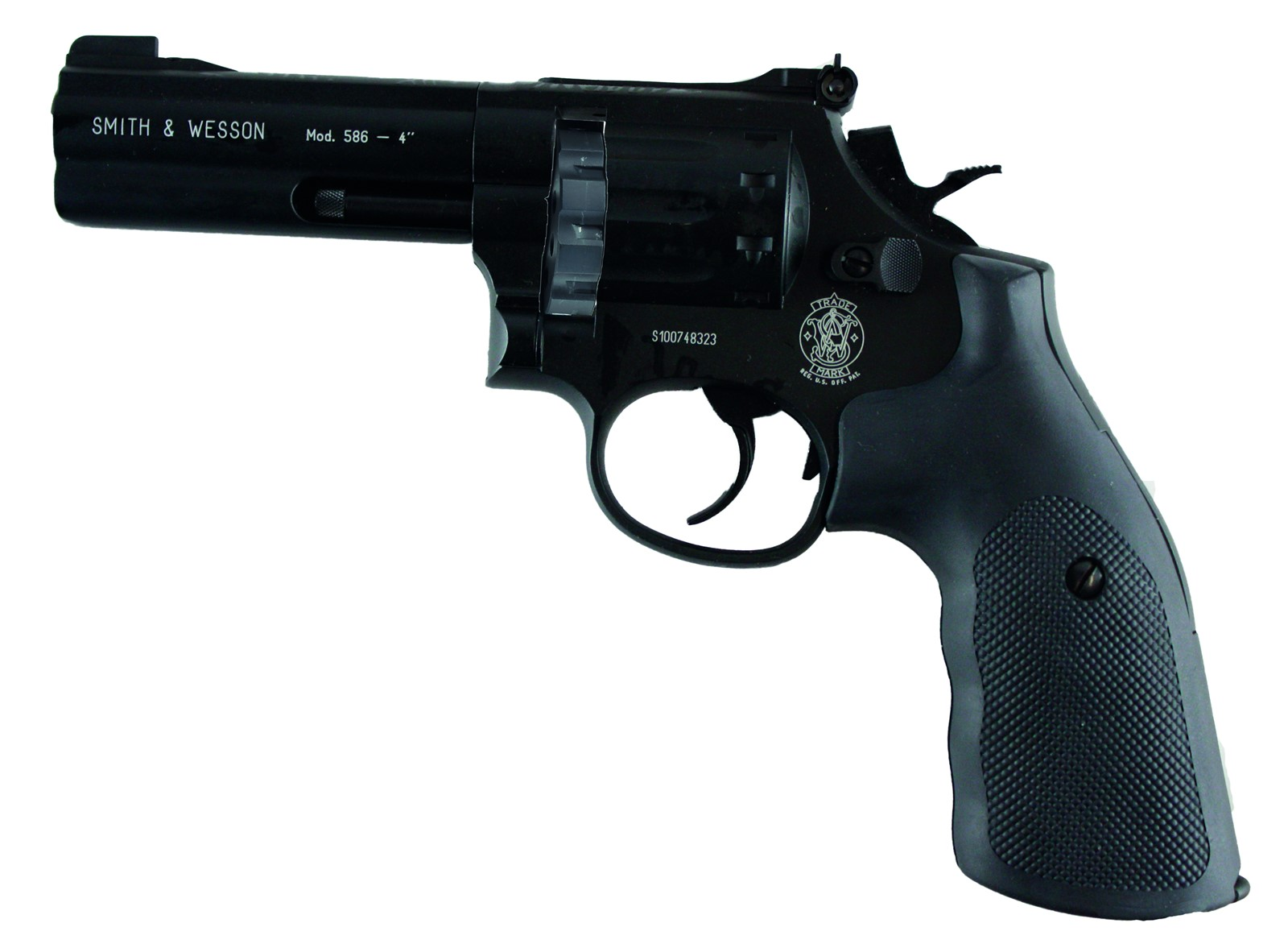 "Smith & Wesson 4"" Black."