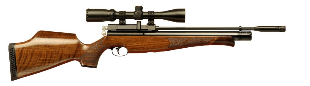 Air Arms S410 pre-charged rifle.