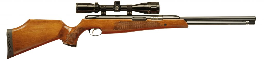 Air Arms TX200 walnut stock.