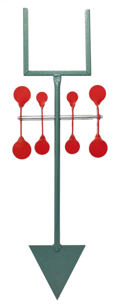 Bisley Red Set Spinner Target.