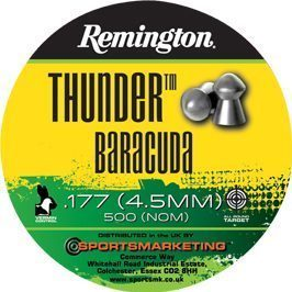 Thunder Baracuda .177 Pellets.