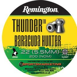 Remington Thunder Baracuda Hunter.22 Pellets.