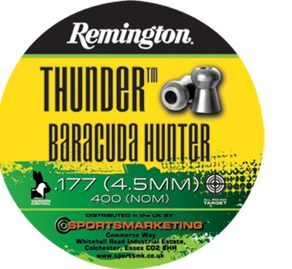 Remington Thunder Baracuda Hunter .177 Pellets.