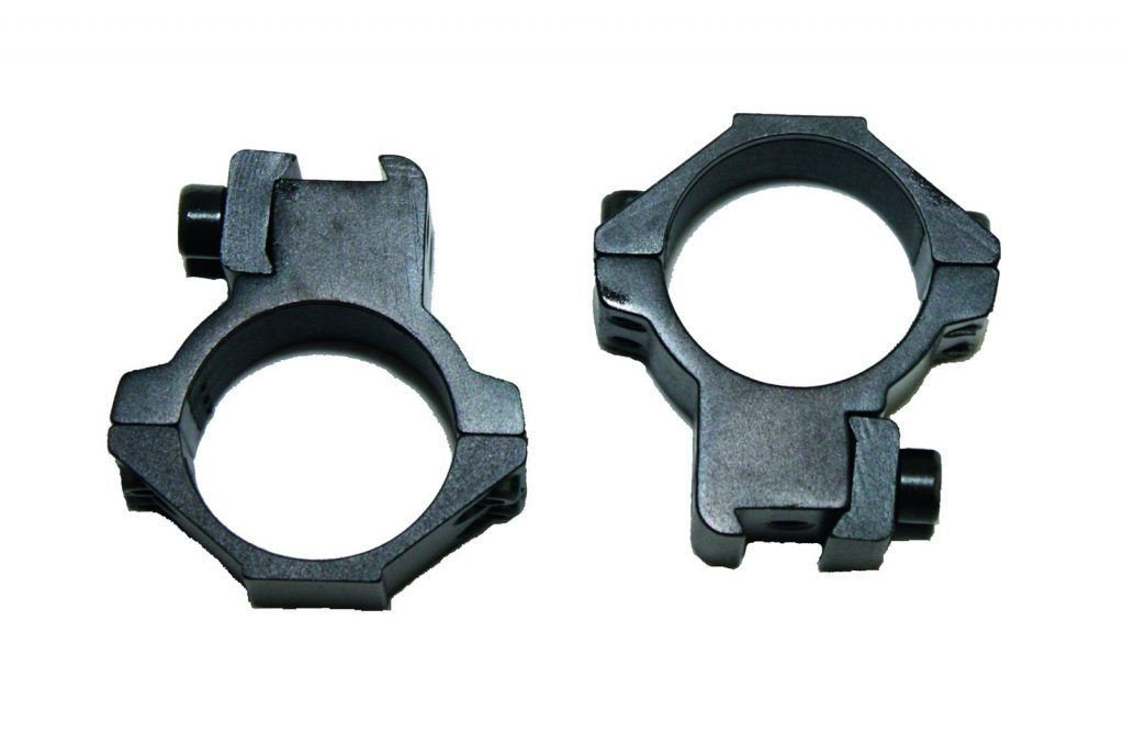 Two Piece Medium Mounts for 30mm Scope Tubes.