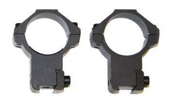 Two Piece High Mounts for 30mm Scope Tube.