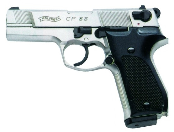 "Walther CP88 4"" Plastic Grips."