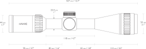 Riflescope Airmax AO 4-12x40