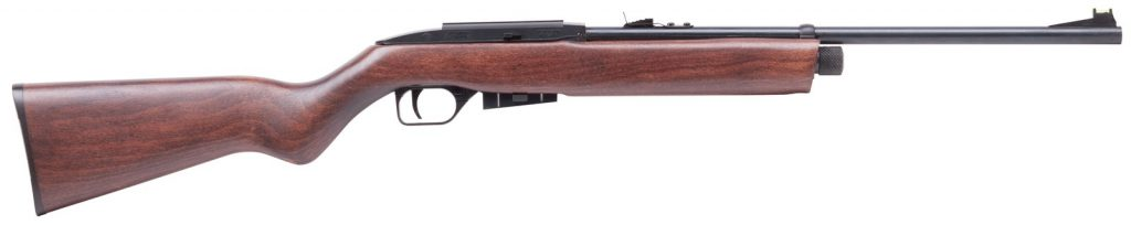 Crosman 1077 Rifle With a Wooden Stock.